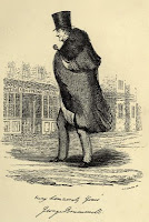 Brummell as an old man from The History of White's  by Hon Algernon Bourke (1892)