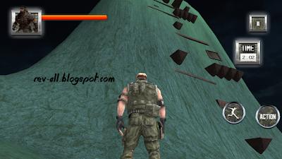 Level 7 - terakhir menaiki panjat tebing permainan  Survival Military Training (rev-all.blogspot.com)
