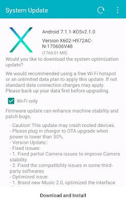 How to Update Infinix Zero 4 Plus (X602) to Nougat Version