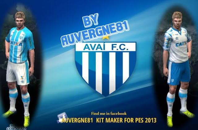 PES 2013 Avaí FC 2017 Kits