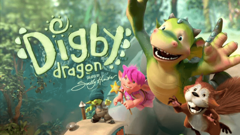 Digby el gragón, el nuevo dibujo animado que llega a Nick Jr ...