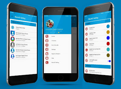 BBM Mod Simple Brown Apk 3.1.0.13 BlackID v4 [Update Material Themes]