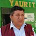 SUB PREFECTO DE ALTO LARÁN Y DIRIGENTE DE C.P. YAURITAMBO-LARÁN SE INTERESAN POR MURO DE CONTENCIÓN CERCA DE ESCUELA
