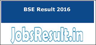 BSE Result 2016
