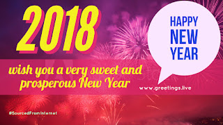 Creative graphic greetings for new year