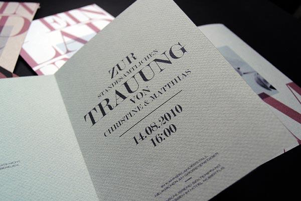35 Creative Wedding Invitation Designs for Inspiration ...