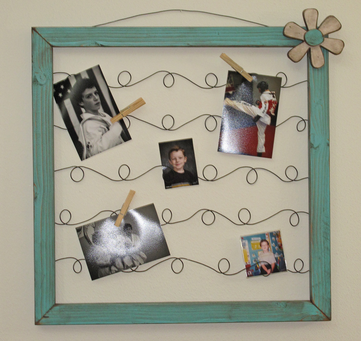 G J G J Wire Picture Note Frames How To