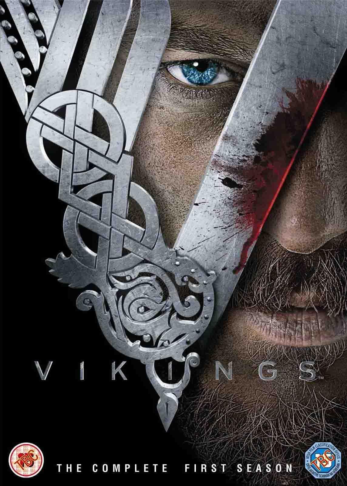 Vikings 1ª Temporada Edição Estendida Torrent – BluRay 720p e 1080p Dual Áudio (2013)
