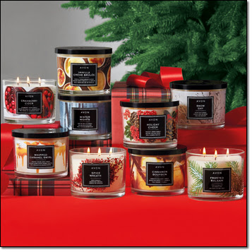 avon catalog 24 2018 candle collection