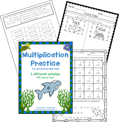 https://www.teacherspayteachers.com/Product/Multiplication-Practice-2510-times-tables-1335976
