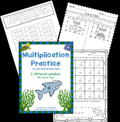 https://www.teacherspayteachers.com/Product/Multiplication-Practice-2510-times-tables-1335976