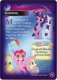 My Little Pony Moondancer Equestrian Friends Trading Card