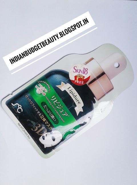 Soc 3D Beauty Serum Face Mask Pack (Lipidure) - moisturizing
