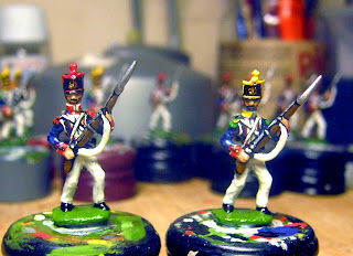 Der Kriegspielers DK9 E: French Line Infantry Elites 1812, Advancing