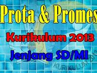 Prota dan Promes SD/MI Kurikulum 2013 Revisi 2018