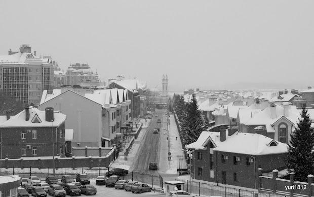 Кошачка - главная улица рабочей слободы - Федосеевская улица.