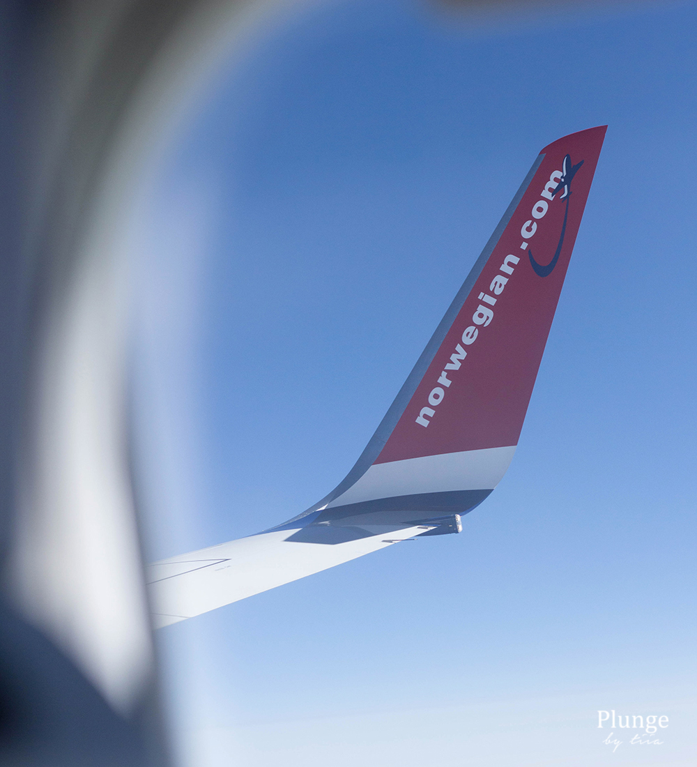 Flying with Norwegian