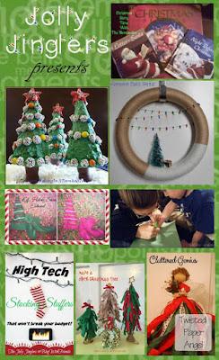 Jolly Jinglers December Blog With Friends projects | www.BakingInATornado.com