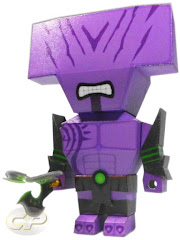 Chibi Faceless Void papercraft dota 2