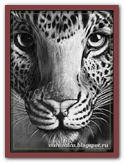 """Вышивай.ру """"Леопард"""""""