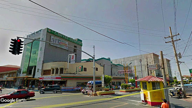 Poblacion Tanauan City.  Image source:  Google Earth Street View.