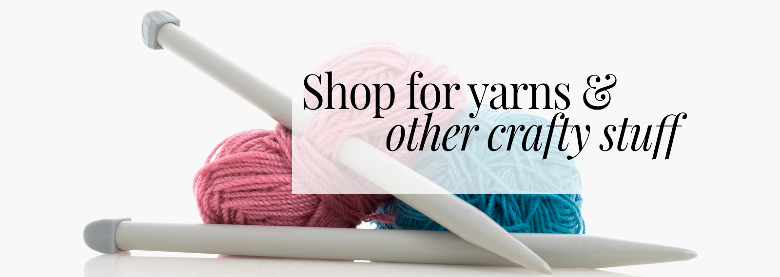 Shop from the Yarn Shop