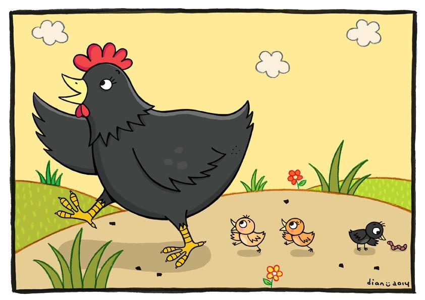 Kisah Anak Ayam Yang Iri Dengan Manusia Atikah El Barayef