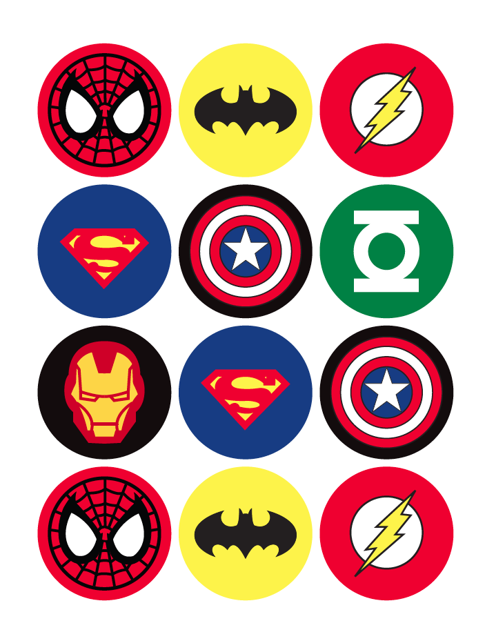 Grant's Super 16 Superhero Birthday Party {with Free
