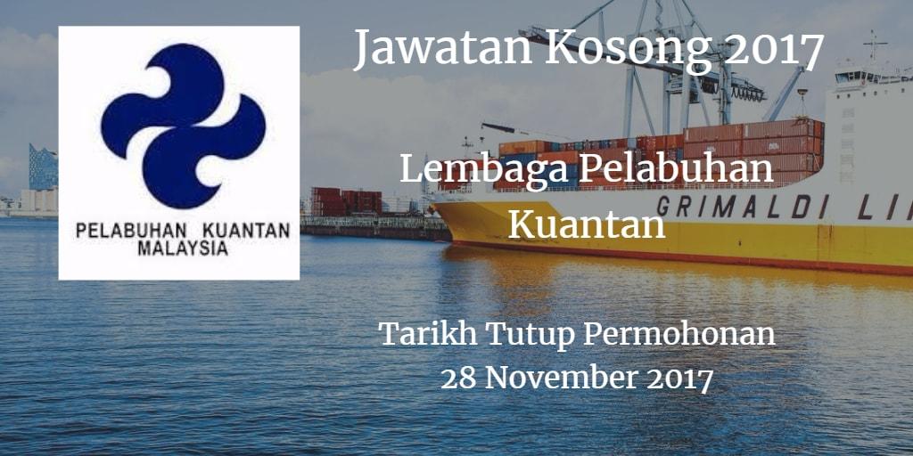 Jawatan Kosong LPKTN 28 November 2017
