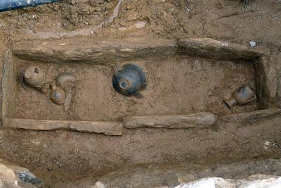 Ασύλητος τάφος της γεωμετρικής περιόδου εντοπίστηκε στη Λέσβο