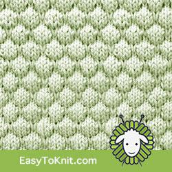 EasyToKnit - Bubble Textured Knitting 33