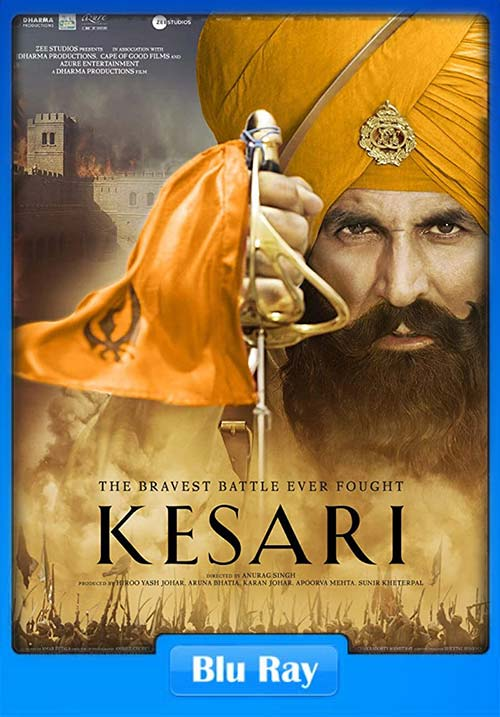 Kesari 2019 Hindi 720p BluRay x264 | 480p 300MB | 100MB HEVC