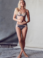 Elsa Hosk sizzles in lingerie for the Victoria's Secret July Latest Lookbook