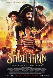 Captain Sabertooth and the Treasure of Lama Rama (2014)