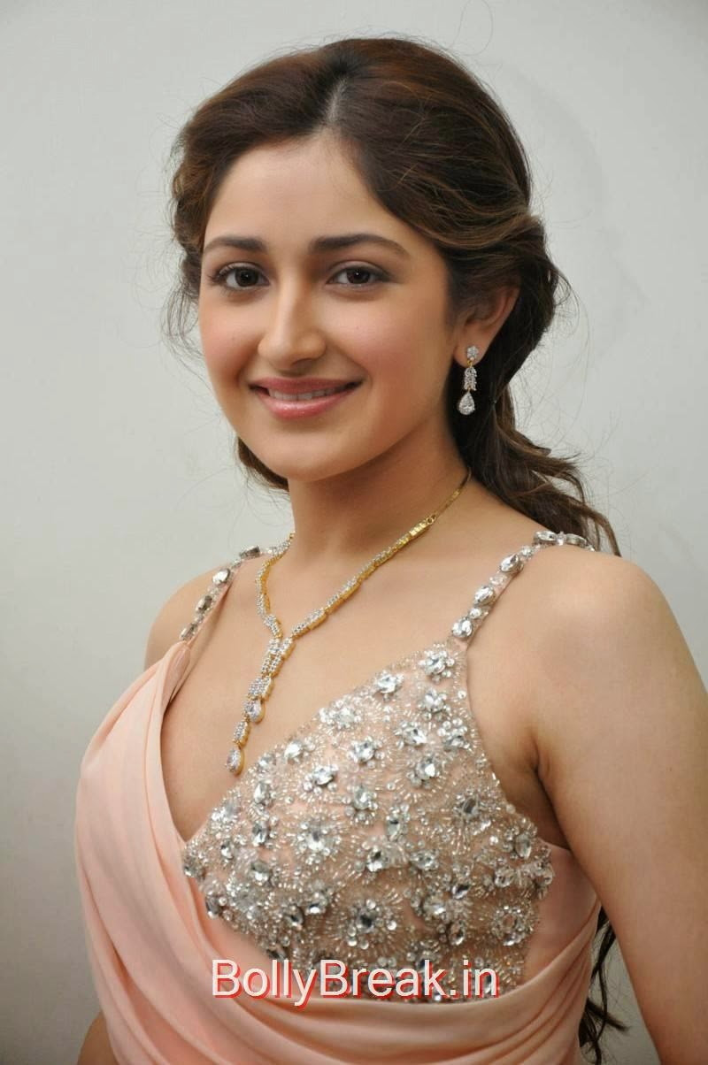 Sayesha Saigal Photo Gallery, Sayesha Saigal Hot Pics from Akhil New Movie Launch Function