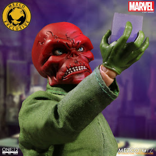 One:12 Collective Red Skull - Mezco