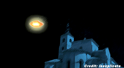 UFOs Reported to the North of Mérida