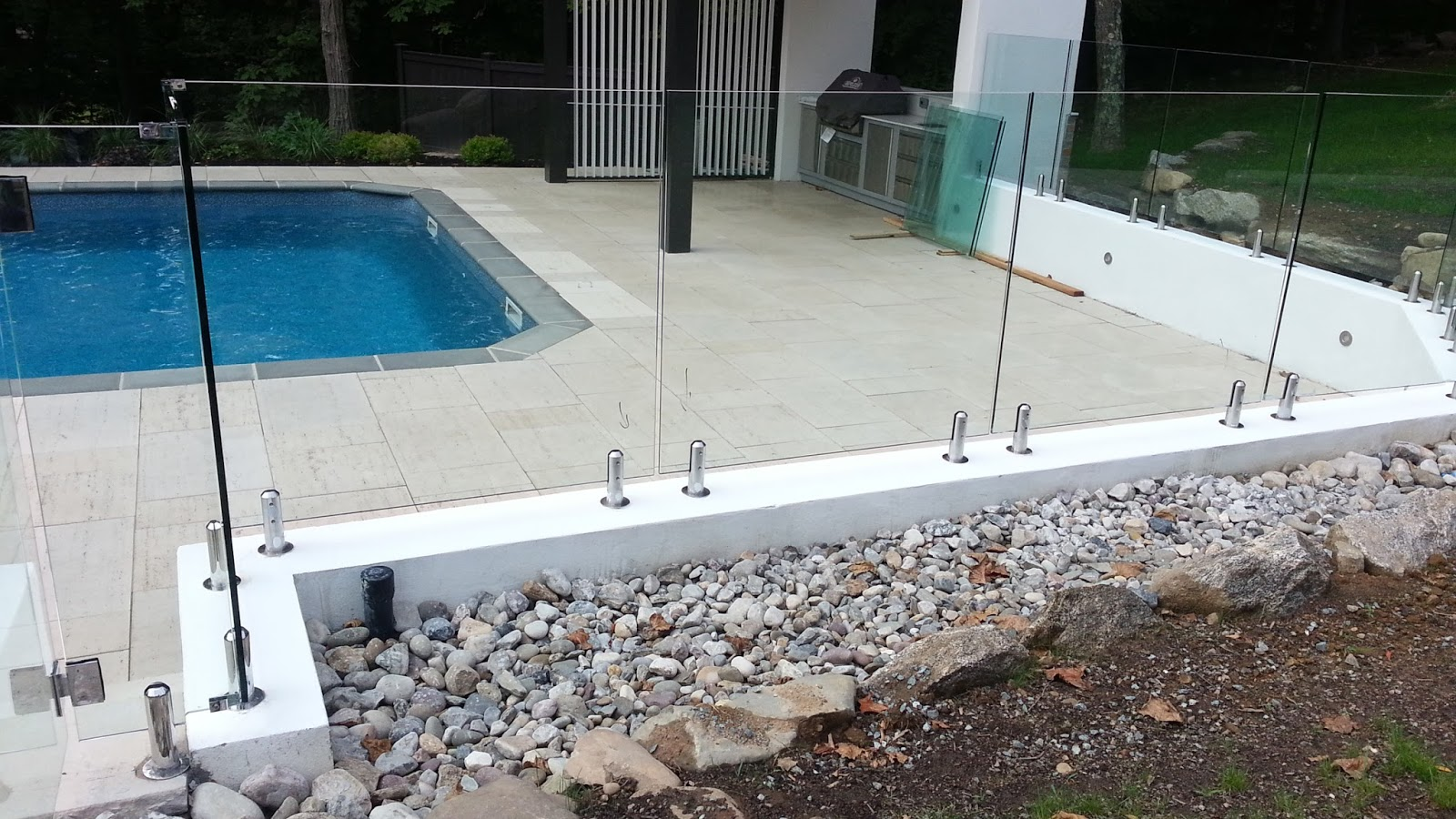 Glass Pool Fence Much More Than A Luxurious Addition Glass