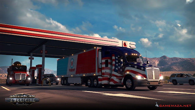 American Truck Simulator Gameplay Screenshot 1