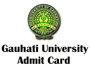 Gauhati University IDOL Admit Card 2017