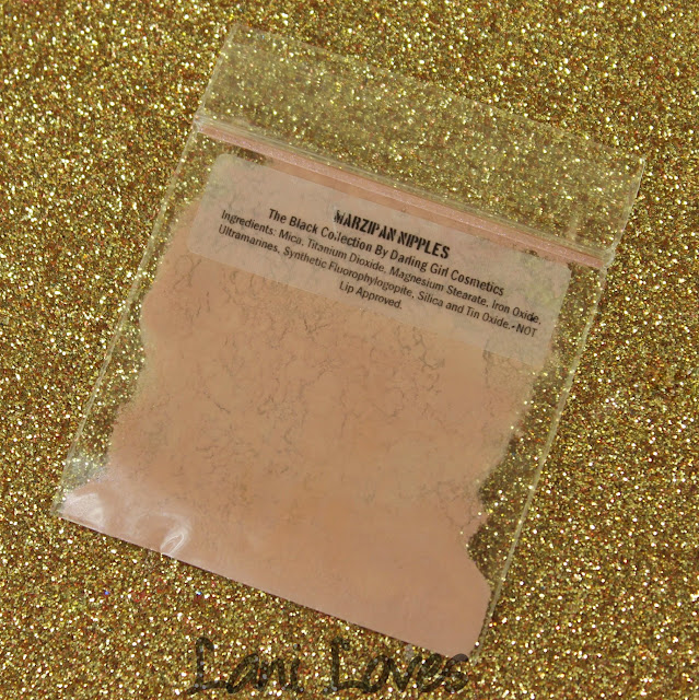 Darling Girl Marzipan Nipples eyeshadow swatches & review
