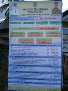 Polejiwa, Desa Pertama Lunas PBB di Malbar Lutra