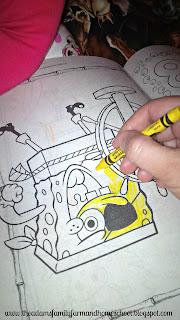 Coloring Sponge Bob