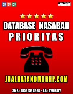 Download Database Nasabah Prioritas Perbankan