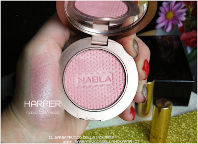 HARPER swatches  Blush Blossom   goldust collection Nabla cosmetics