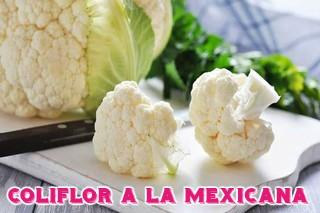 dieta de diabetes coliflor a la mexicana