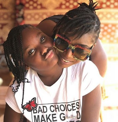 Annie Idibia showers love on her first seed unbelievably