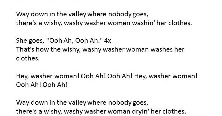 Wishy washy women