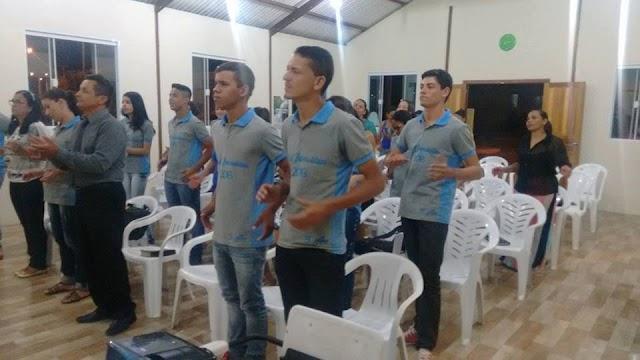 Culto em Ação de Graças na Igreja Batista para alunos do 3º Ano médio de Amparo