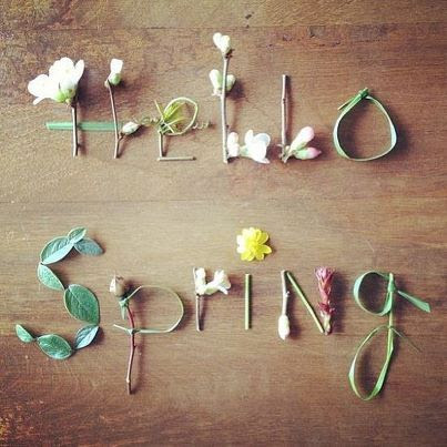 To Do List: Spring